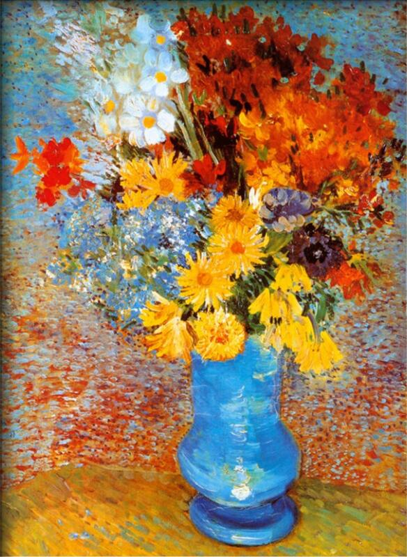 Vase of Flowers - Vincent Van Gogh Paintings